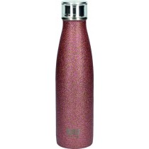 Buy the Built 500ml Double Walled Stainless Steel Water Bottle Rose Gold Glitter online at smithsofloughton.com