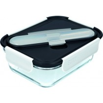 Buy the Built Professional Glass 900ml Lunch Box with Cutlery online at smithsofloughton.com