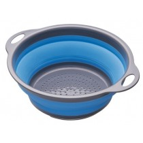 Buy the Colourworks Blue Collapsible Colander online at smithsofloughton.com