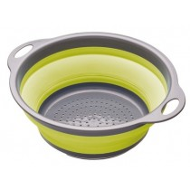 Buy the Colourworks Green Collapsible Colander online at smithsofloughton.com