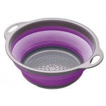 Buy the Colourworks Purple Collapsible Colander online at smithsofloughton.com