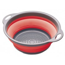 Buy the Colourworks Red Collapsible Colander online at smithsofloughton.com