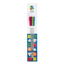 Buy the Colourworks Set of 4 Assorted Silicone Handled Skewers online at smithsoflougton.com