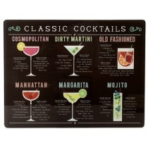 Buy the Creative Tops Cocktails Glass Work Surface Protector online at smithsofloughton.com