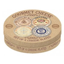 Buy the Creative Tops Set of 4 Gourmet Cheese Serving Dishes online at smithsofloughton.com