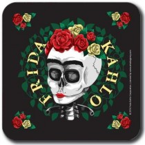 Buy the Customworks Frida Kahlo Skull Drinks Coaster online at smithsofloughton.com