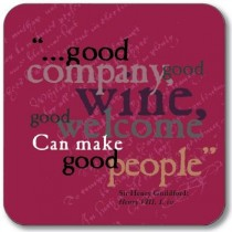 Buy the Customworks Good Company Drinks Coaster online at smitsofloughton.com