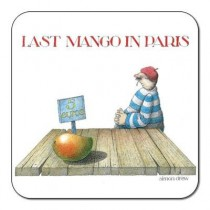 Buy the Customworks Simon Drew Last Mango Drinks Coaster online at smithsofloughton.com