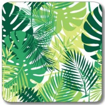 Buy the Customworks Tropical Leaves 1 Drinks Coaster online at smithsofloughton.com