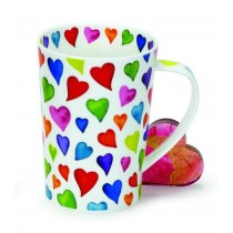Buy the Dunoon Argyll Warm Hearts Mug online at smithsofloughton.com