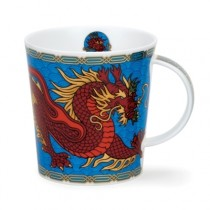 Buy the Dunoon Blue Dragon Mug online at smithsofloughton.com