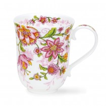 Buy the Dunoon Braemar Mug Virginia Pink online at smithsofloughton.com