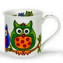 Buy the Dunoon Bute Hoot Leaves mug online at smithsofloughton.com