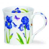 Buy the Dunoon Bute Mug beau Jardin Irises online at smithsofloughton.com