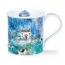 Buy the Dunoon Bute Mug Cottages Blackbird online at smithsofloughton.com