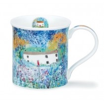 Buy the Dunoon Bute Mug Thatched Long Cottages online at smithsofloughton.com