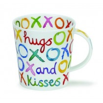 Buy the Dunoon Cairngom Mug Hugs and Kisses online at smithsofloughton.com