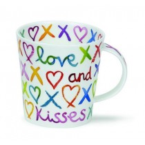 Buy the Dunoon Cairngom Mug Love and Kisses from smithsofloughton.com