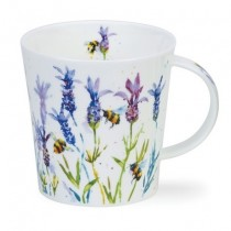 Buy the Dunoon Cairngorm Mug Busy Bee Lavender online at smithsofloughton.com