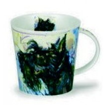 Buy the Dunoon Cairngorm Mug Dogs on Canvas Scottie online at smithsofloughton.com