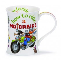 Buy the Dunoon Cotswold Mug How To How to Ride a Motorbike online at smithsofloughton.com