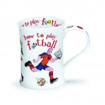 Buy the Dunoon Cotswold Mug How To Play Football online at smithsofloughton.com
