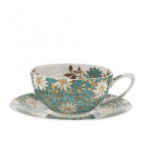 Buy the Dunoon Cup and Saucer Nuovo Teal online at smithsofloughton.com
