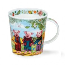 Buy the Dunoon Fairy Tales Three Little Pigs Mug online at smithsofloughton.com