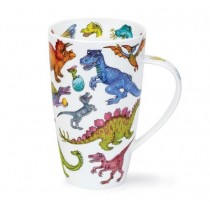 Buy the Dunoon Henley Shaped Mug Dinotastic online at smithsofloughton.com