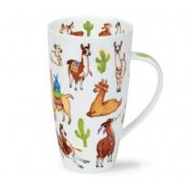 Buy the Dunoon Henley Shaped Mug Llamarama online at smithsofloughton.com