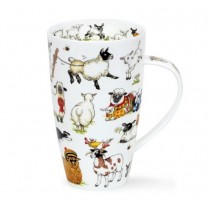 Buy the Dunoon Henley Shaped Mug Woolly Jumpers online at smithsofloughton.com