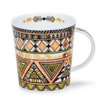 Buy the Dunoon Lomond Mug Afrika Lime Mug online at smithsofloughton.com