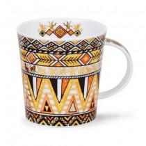 Buy the Dunoon Lomond Mug Afrika Orange Mug online at smithsofloughton.com