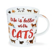 Buy the Dunoon Lomond Mug All You Need Is Cats online at smithsofloughton.com