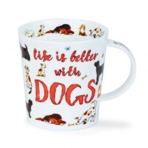 Buy the Dunoon Lomond Mug All You Need Is Dogs online at smithsofloughton.com