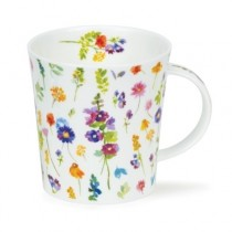Buy the Dunoon Lomond Mug Belles Fleurs Purple online at smithsofloughton.com