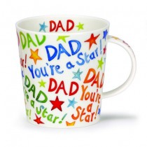 Buy the Dunoon Lomond Mug Dad You're a Star online at smithsofloughton.com