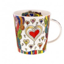 Buy the Dunoon Lomond Mug Elegance Hearts online at smithsofloughton.com