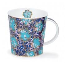Buy the Dunoon Lomond Mug Kimono Dark Blue online at smithsofloughton.com