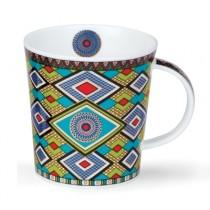 Buy the Dunoon Lomond Mug Masai in Blue online at smithsofloughton.com