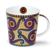 Buy the Dunoon Lomond Mug Masai in Red online at smithsofloughton.com