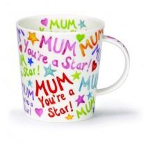 Buy the Dunoon Lomond Mug Mum You're a Star online at smithsofloughton.com