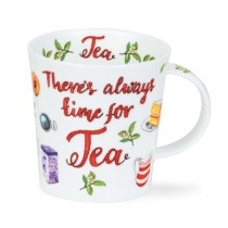 Buy the Dunoon Lomond Mug There is Always Time for Tea online at smithsofloughton.com