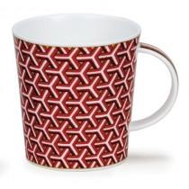 Buy the Dunoon LOMOND Samarkand Burgundy mug online at smithsofloughton.com