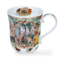 Buy the Dunoon Lost World Animals Mug online at smithsofloughton.com