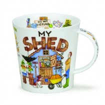 Buy the Dunoon My Shed Mug 480ml online at smithsofloughton.com