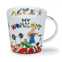 Buy the Dunoon My Workout Mug online at smithsofloughton.com