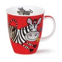 Buy the Dunoon Nevis Shaped Mug Safari Zebra online at smithsofloughton.com