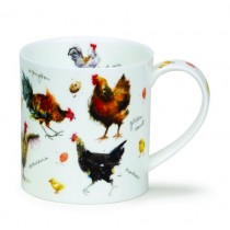 Buy the Dunoon Orkney Mug Chickens online at smithsofloughton.com