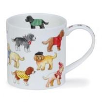 Buy the Dunoon Orkney Mug Dashing Dogs Cockapoo online at smithsofloughton.com